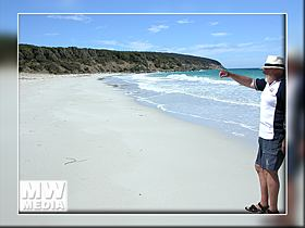 Secluded Beaches  - Kangaroo Island - Click for a larger Image